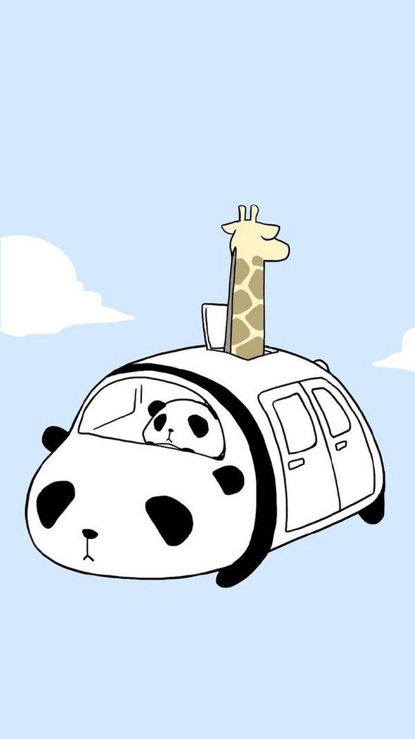 可爱的熊猫萌萌qq皮肤图片