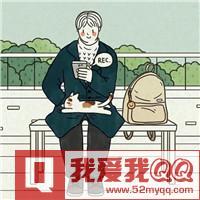 唯美QQ卡通情侣头像  静静的等待着时间的溜走